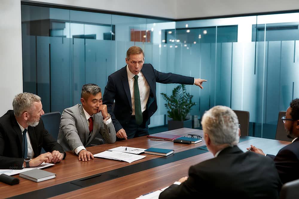 business meeting employment practices liability
